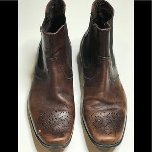 Kenneth Cole Reaction Shoes - Kenneth Cole Reaction Men's Leather Ankle Boot 8.5